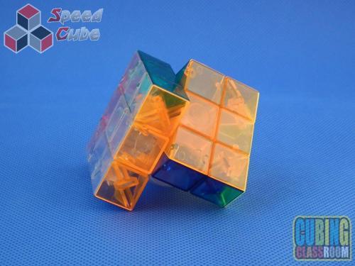 MoYu MoFang JiaoShi Geo Cube B Kolorowa