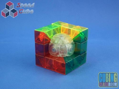 MoYu MoFang JiaoShi Geo Cube C Kolorowa