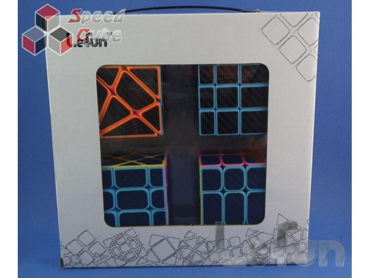 Lefun Magic Cube Gift Pack Candy Carbon