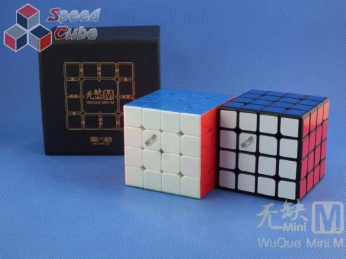 MoFangGe QiYi 4x4x4 WuQue Mini M Czarna