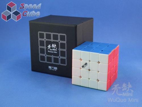 MoFangGe QiYi 4x4x4 WuQue Mini Kolorowa