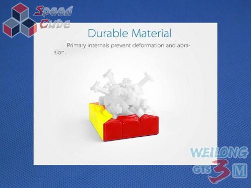 MoYu WeiLong GTS3 Magnetic 3x3x3 Kolorowa
