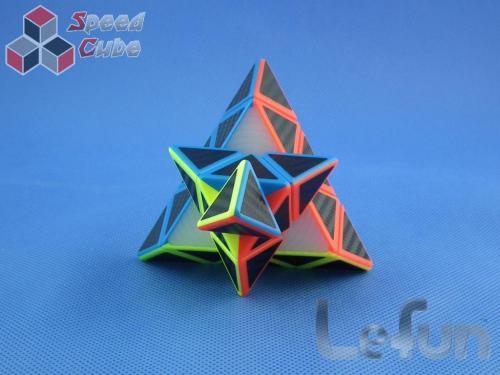 LeFun Pyraminx Carbon Stickers