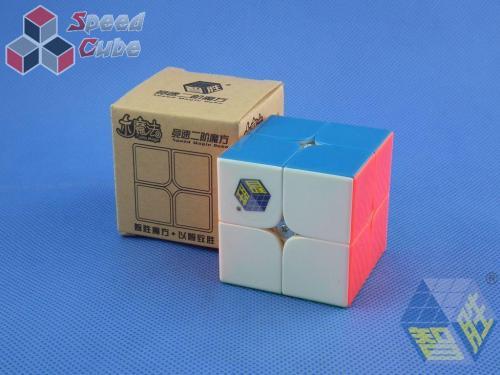 ZhiSheng YuXin Little Magic 2x2x2 Kolorowa