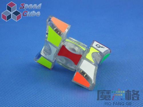 MoFangGe Fidget Spinner 1x3x3 Transparent.
