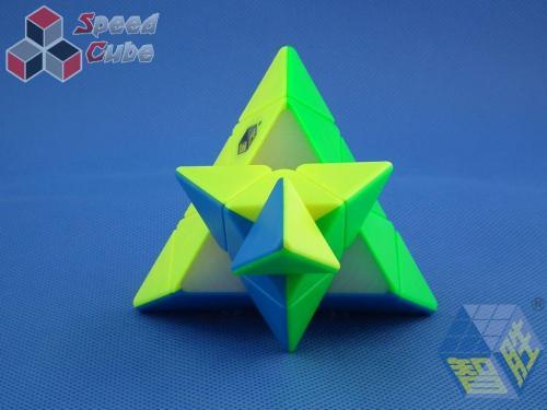 ZhiSheng YuXin Black Kylin Pyraminx Kolorowa