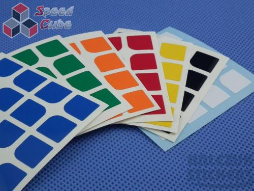 Naklejki Halczuk Stickers ShengShou Florian Normal 4x4x4