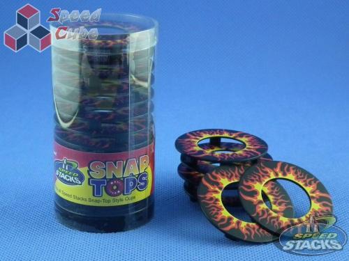 Speed Stacks Snap Tops - Nakładki na kubki Płomienie