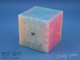 QiYi QiZheng S 5x5x5 Transparent Jelly