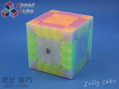 QiYi QiZheng S 5x5x5 Transparent Jelly