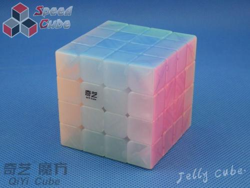 QiYi QiYuan 4x4x4 Transparent Jelly