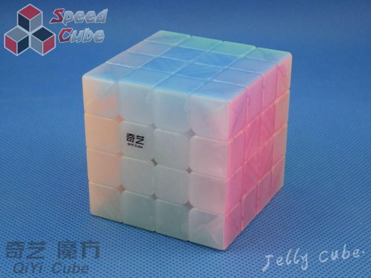 QiYi QiYuan 4x4x4 Transparent Jelly