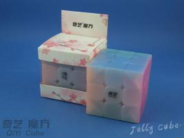 QiYi Warrior W 3x3x3 Transparent Jelly
