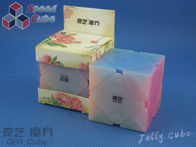 QiYi Skewb Qicheng Transparent Jelly