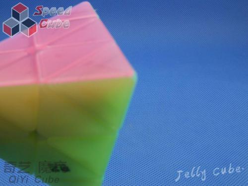 MoFangGe QiYi Pyraminx QiMing Transparent Jelly