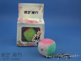 QiYi Cube Key Ring Transparent Jelly Brelok