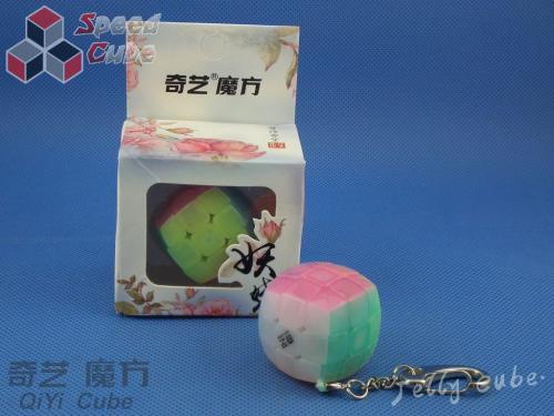 QiYi Cube Key Ring Transparent Jelly Brelok