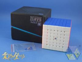 ZhiSheng YuXin HaYs 7x7x7 Magnetic Kolorowa
