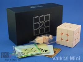 MofangGe QiYi The Valk 3 Mini 3x3x3 Rose Pink