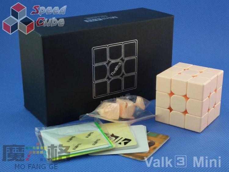 MofangGe QiYi The Valk 3 Mini 3x3x3 Pink