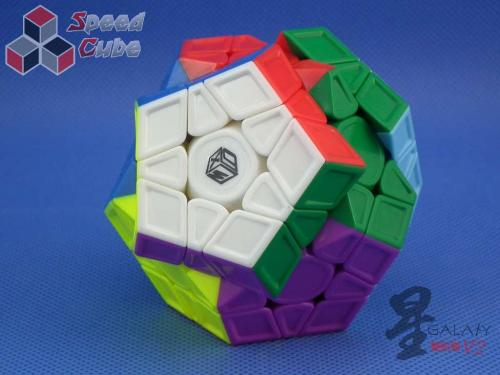 MoFangGe Megaminx GalaXy V2 L Sculpture Kolorowa