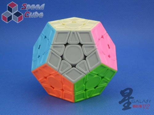MoFangGe Megaminx GalaXy V2 LM Sculpture Kolorowa