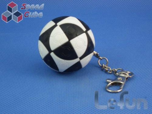 LeFun Football Brelok B&W