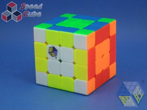 ZhiSheng YuXin Black Kylin 4x4x4 Kolorowa