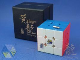 YuXin HuangLong 3x3x3 Magnetic Kolorowa
