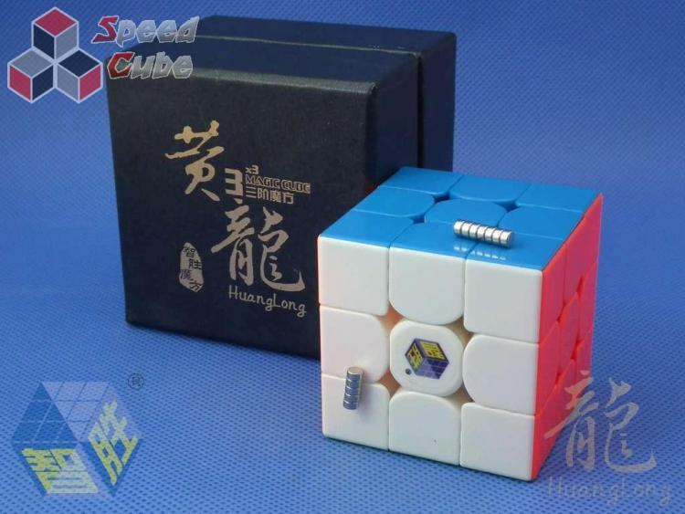 ZhiSheng YuXin HuangLong 3x3x3 Magnetic Kolorowa
