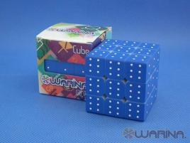 Warina 3x3x3 Blind Fingerprint UV Blue