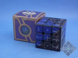 XhmQbeR 3x3x3 Mathematics Cube UV Printing Black