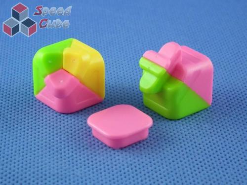 MoYu Yulong 3x3x3 Kolorowa (Różowa ściana)