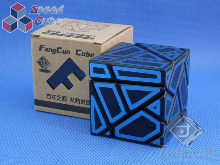 FangCun Ghost Cube Black Body Blue Hollow Stick.
