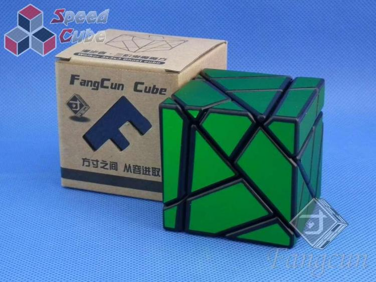 FangCun Ghost Cube Black Body Green Stick.
