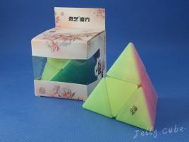 QiYi Pyraminx 2x2 Transparent Jelly
