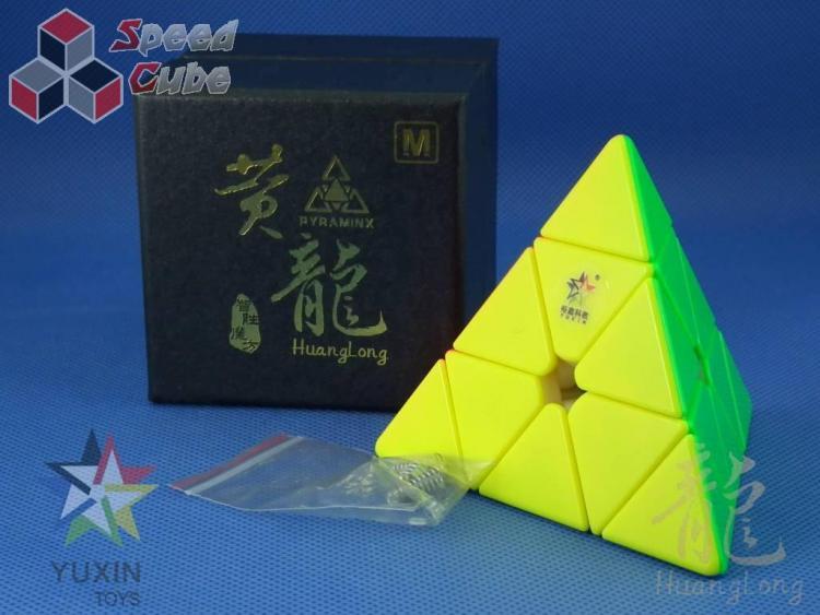 YuXin ZhiSheng HuangLong Pyraminx Magnetic Kolorowa