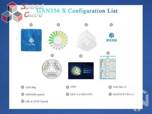 GAN356 X Numerical IPG 3x3 Czarna