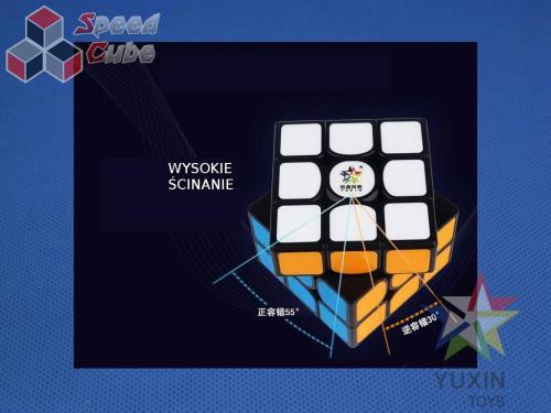 YuXin Kylin V2 3x3x3 Magnetyczna Transparentna