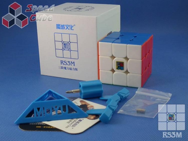 MoYu MoFang JiaoShi 3x3x3 MF3RS3M Kolorowa