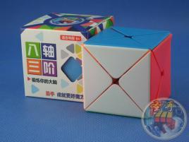 ShengShou Dino Cube Kolorowa