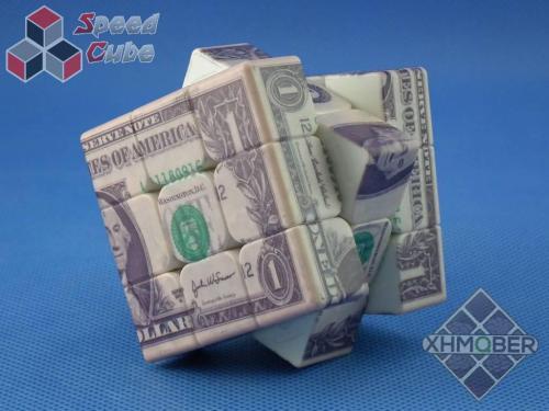 XhmQbeR 3x3x3 Dolar USD UV