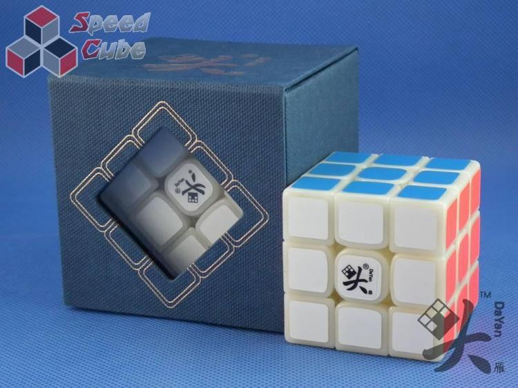 DaYan TengYun 3x3x3 M Magnetyczna Kremowa