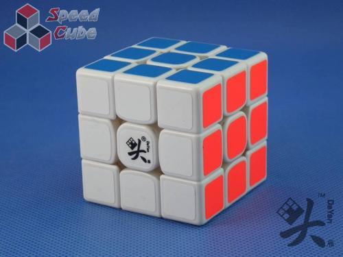 DaYan TengYun 3x3x3 M Magnetyczna Biała