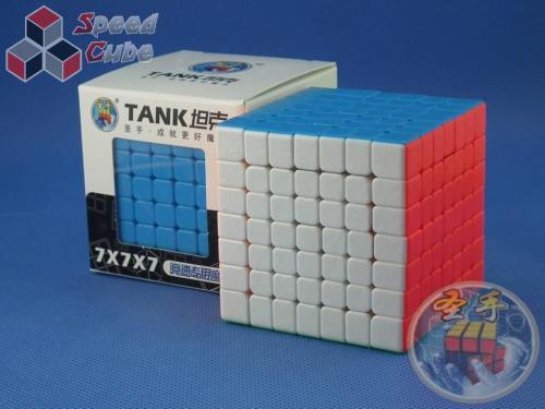 ShengShou 7x7x7 TANK 69 mm Kolorowa