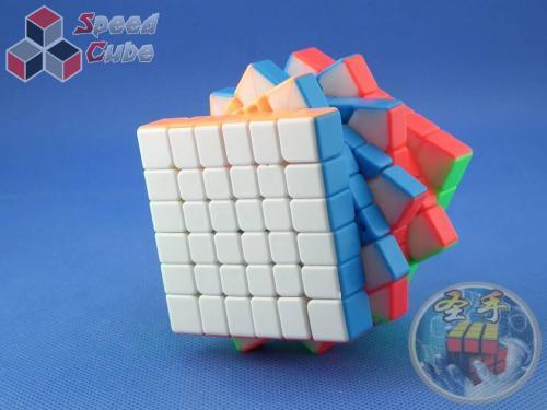 ShengShou 6x6x6 TANK 67 mm Kolorowa