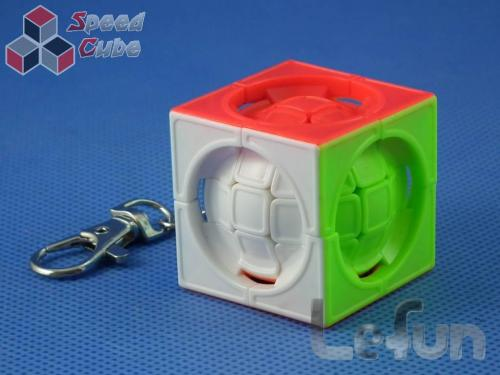 LeFun DeFormed Cube Kolorowa Brelok