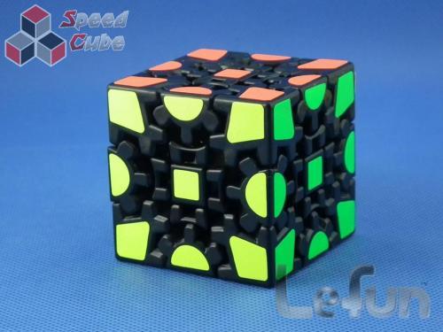 LeFun Gear Cube I 3x3x3 Czarna