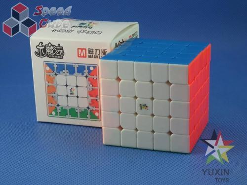 YuXin Little Magic 5x5x5 Magnetic Kolorowa
