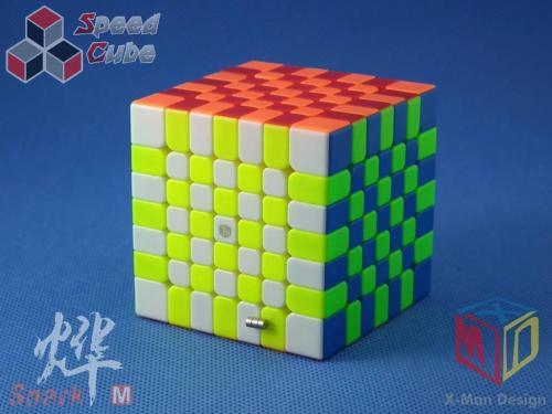 MoFangGe X-Man Design 7x7x7 Spark M Kolorowa